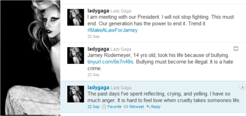Twitter de Lady Gaga